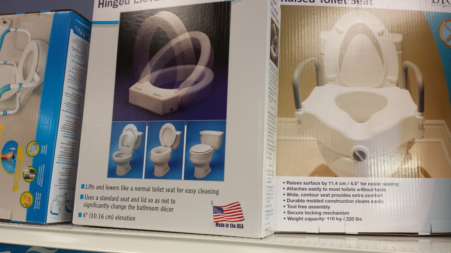 Mobility Aid Elevated Toilet Seat