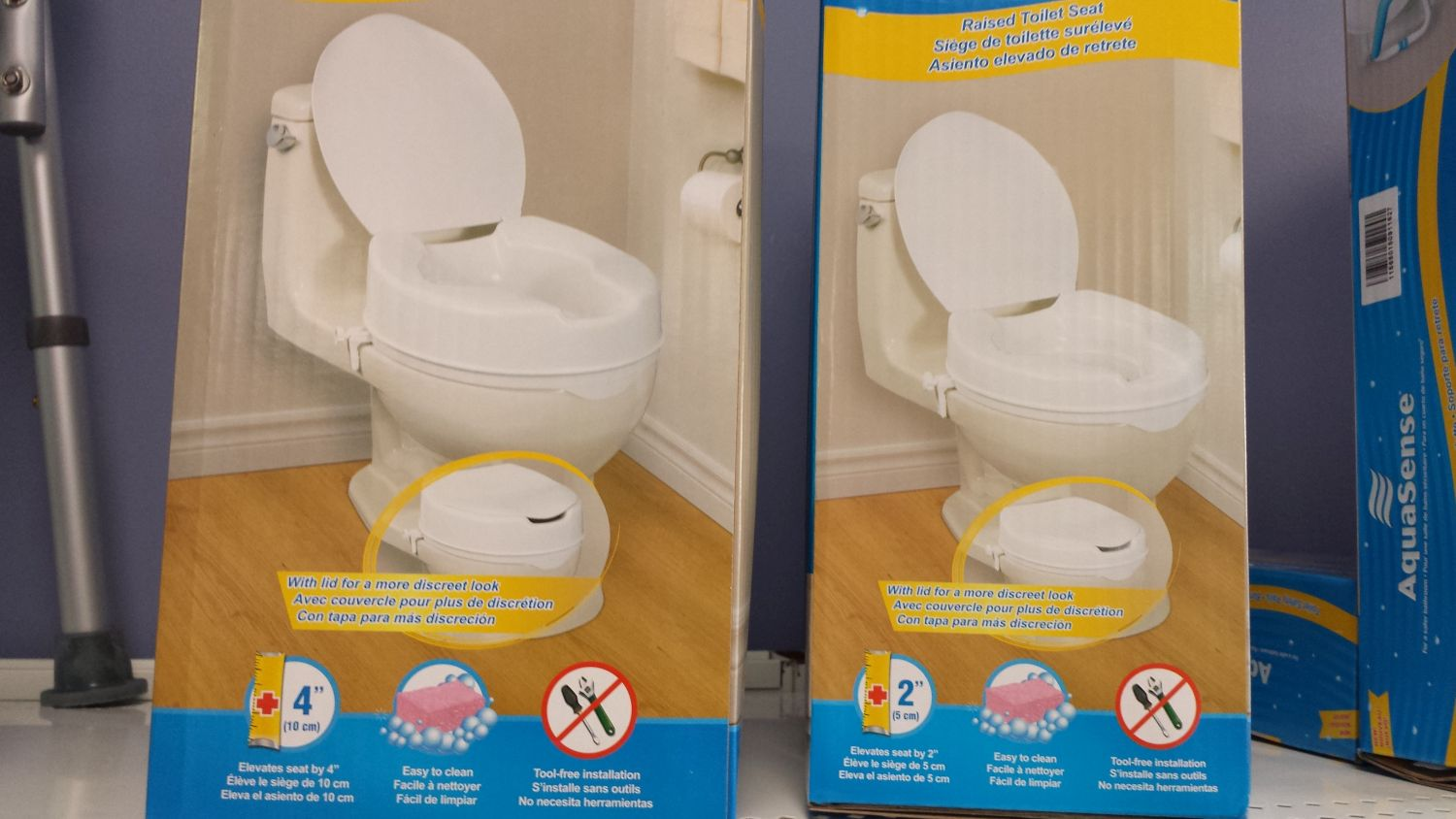 Daily Living Aids Elevated Toilet Seat