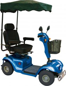 Mobility Scooter Sunshade