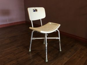 Heavy Duty Shower Chair with Back