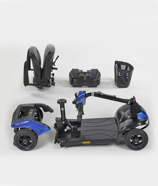 Compact Mobility Scooter Disassembly